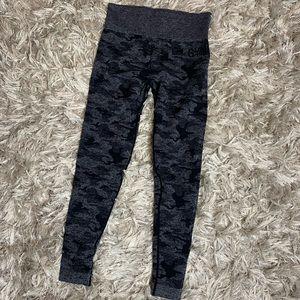 Black Camo Gymshark Legging